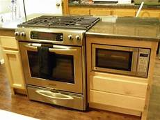 Kitchen Islands With Oven And Microwave by Can I Use A Regular Oven Range With An Island
