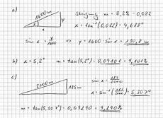 trigonometrie wie berechne ich aufgaben zum thema