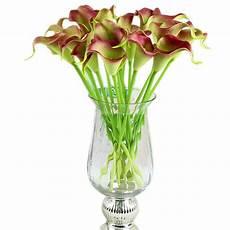 diy home calla bridal wedding bouquet latex real