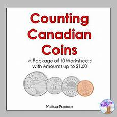 money worksheets grade 1 canadian 2167 counting canadian coins worksheets by the teaching rabbit tpt