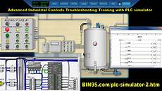 advanced industrial controls training with plc simulator plc training plc simulator
