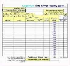excel timesheet template with overtime 6 excel timesheet template with overtime excel templates