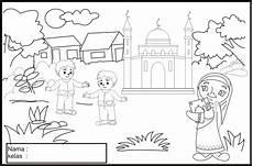 Muslimah Zone Lomba Mewarnai Di Masjid Hidayatullah