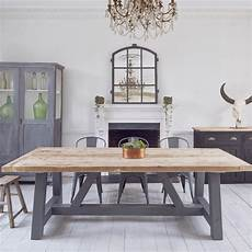 Dining Room Tables Uk salvaged timber industrial reclaimed dining table