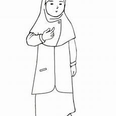 Koleksi Mewarnakan Gambar Muslim Dan Muslimah Azhan Co