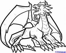 Ausmalbilder Coole Drachen How To Draw A Step