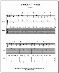 Twinkle Twinkle For Guitar And Violin Free
