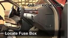 Interior Fuse Box Location 1995 1999 Chevrolet Monte