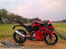Custom Vixion by Modifikasi Yamaha Vixion Menjadi Sport Yzf R125 Ala Ae