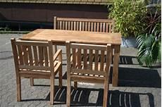 Gartenmöbel Set Holz - teak gartenm 246 bel set outdoorm 246 bel teakholz balkonm 246 bel