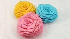 diy paper flowers tutorial diy crepe paper roses