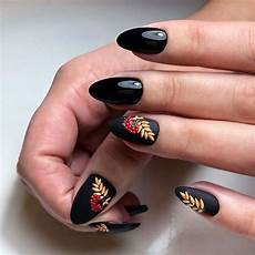 45 fall nail art designs to boost mood