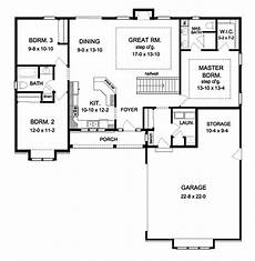 rambling ranch house plans ranch floor plan main floor plan plan 1010 190 house
