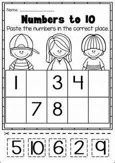 kindergarten math printable worksheet no prep numbers preschool kindergarten math
