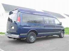 car engine repair manual 2001 chevrolet express 3500 engine control purchase used 2001 chevy express 3500 passenger handicap wheelchair lift hi top only37k clean in