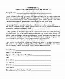 free 11 sle photo release forms pdf