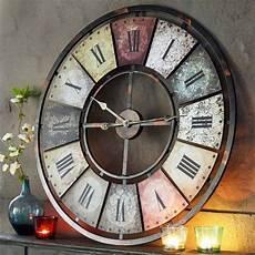 Horloge Murale Quot Quot Chiffres Romains 224 Pile 80 Cm De