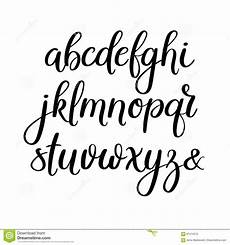 handwriting tips brush calligraphy alphabet