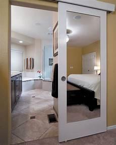 bathroom closet door ideas wall mounted sliding door quot reflects quot genius design idea hawaii renovation