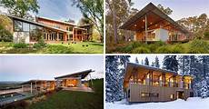 house with funky roof angles 16 exles of modern houses with a sloped roof