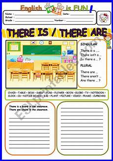 grammar worksheets there is there are 24680 a worksheet on there is and there are you like it ingles basico para ni 241 os fichas