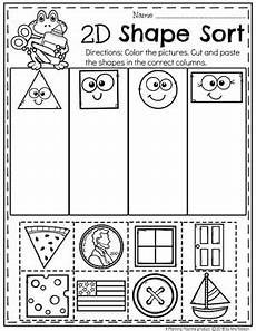 sorting by shape worksheets for kindergarten 7887 shapes worksheets planning playtime