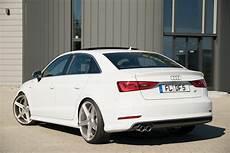 Audi A3 Weiß - audi a3 sedan gets tweaked by df automotive carscoops