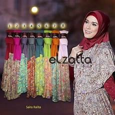 Jilbab Elzatta Model Terbaru Bergo Elzatta Saira Ralita