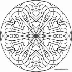 mandala coloring pages hearts 17922 don t eat the paste mandala to color