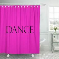 Fuschia Pink Shower Curtain