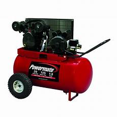 powermate 20 gal portable electric air compressor shop your way online shopping earn