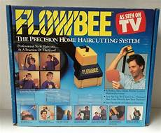 vintage original flowbee precision home haircutting vacuum system as seen on tv