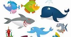Mewarnai Gambar Ikan Dan Binatang Laut Mewarnai Gambar