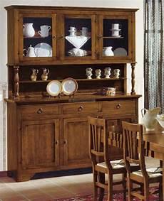 credenze con vetrina credenza classica in legno tinta noce con vetrinetta l 170