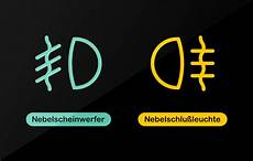 Auto Licht Symbole - nebelschlussleuchte symbol woodenbild
