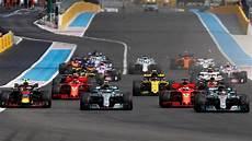 Formula 1 Key Half Time Statistics Of The 2018 Season