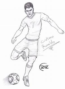 Fussball Ausmalbilder Ronaldo Ronaldo Drawing At Getdrawings Free