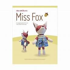 miss fox miss fox pattern wee wonderfuls