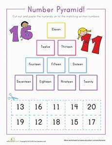 writing numbers 11 20 worksheet education com