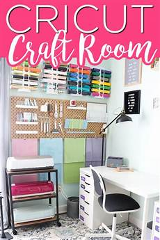 step inside this cricut craft room and take a tour