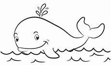 Kartun Lucu Hello Ikan Paus Gambar Hewan Gambar