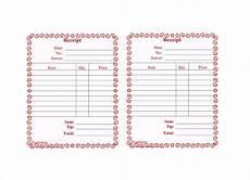 18 restaurant receipt templates free pdf doc format