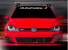 product 48 x4 5 new volkswagen r gti dubaholics white custom windshield decal sticker