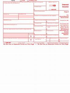 irs form 1099 int download fillable pdf or fill online
