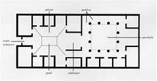 ancient roman house floor plan ancient flashcards at georgetown university studyblue