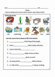 nouns exercises for first grade common proper nouns worksheet 2nd grade math stuff to buy