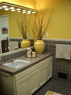 yellow and grey bathroom decorating ideas information about rate my space questions for hgtv