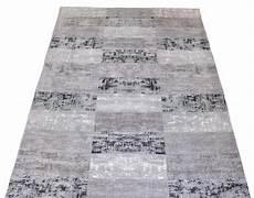 vintage teppich venus grau patchwork flatweave