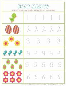 spring themed math worksheets for kindergarten preschool easter math super cute would have to use a