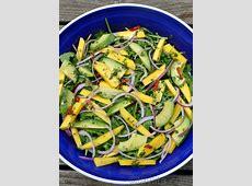 mango  avocado and arugula salad_image